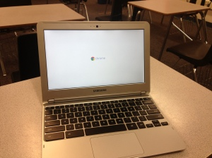 Chromebooks have begun to replace netbooks at CCJH.