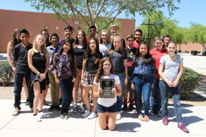 The CCJH Student Council earned the award of Master Council at the AAJHSC convention on May 5.